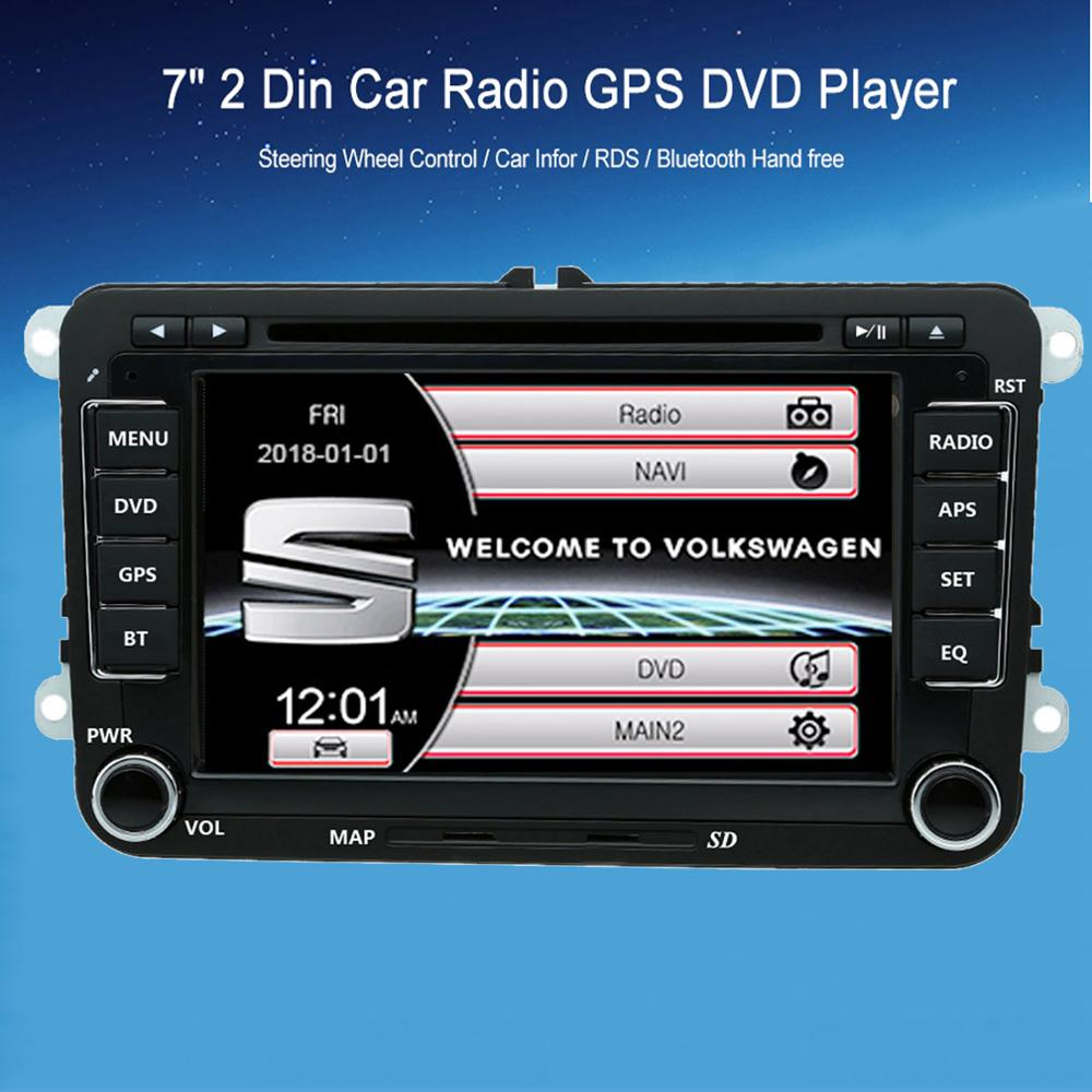 Seat Leon 2 Din Adapter Byncg Radio 2din Car Dvd Player For Vw Skoda Octavia Superb