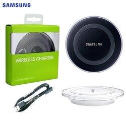 SAMSUNG oryginalny bezprzewodowa ładowarka qi do Samsung Galaxy S6 krawędzi S6 + G9200 G9250 S6Edge + uwaga 5 G9280 S7 S8 Plus S9 S10 EP PG920I w Ładowarki do telefonów komórkowych od Telefony komórkowe i telekomunikacja na