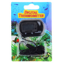 Under 50 degrees~ under 70 degree Test Range Thermometer Suitable for Fish Tank Black(China)
