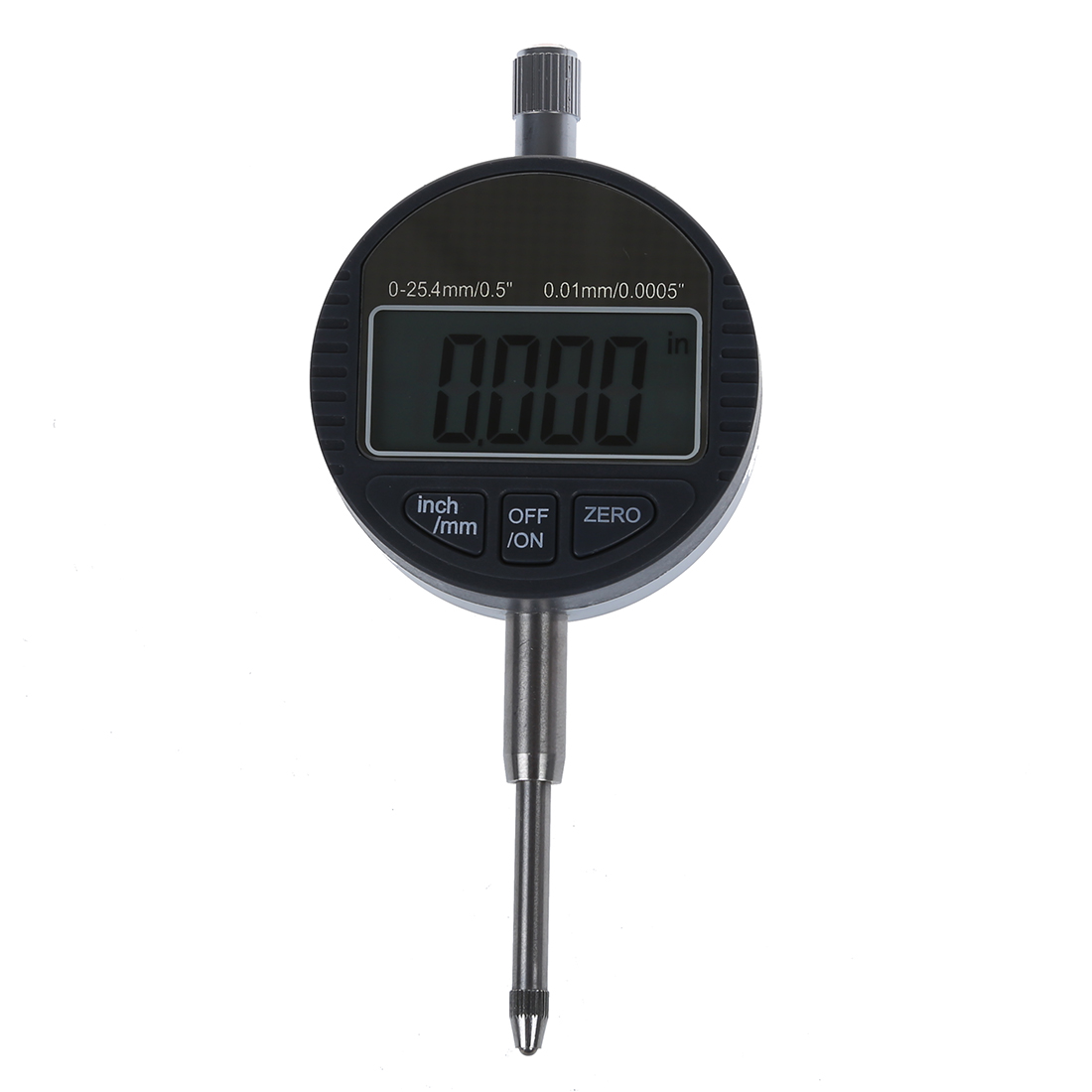 FREE extra battery-FREE Shipping Digital Dial Indicator 0.01mm//0.0005/'/' Range