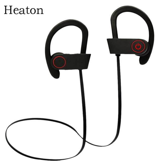 Heaton Wireless Sport Headphones Fashion Bluetooth Headset Earphones with Mic Stereo Sweatproof Earbuds for Phone PC