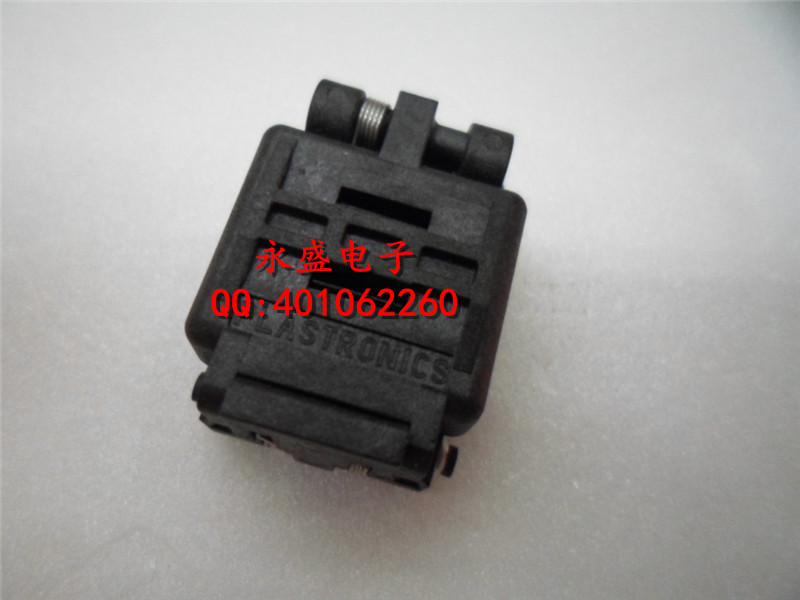ФОТО Imported IC test seat is burning seat QFN10 MLF10 0.5MM 3X3MM conversion seat -FREESHIPPING