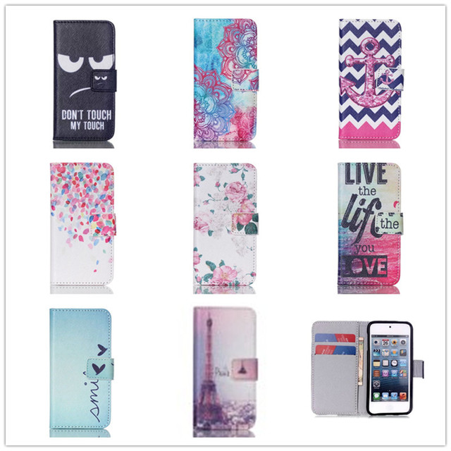 Case For Apple Case iPod Touch 5 Phone Cases w/ Card Holder