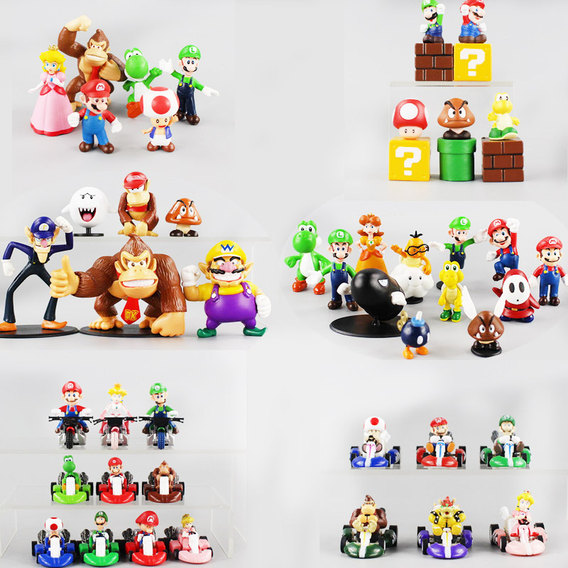6style Super Mario Broswall Bros Luigi Mushroom Koopa Troopa