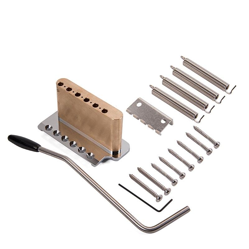 Guitare électrique trémolo système pont en acier inoxydable selles accessoires d'instruments de musique xr-hot - 6