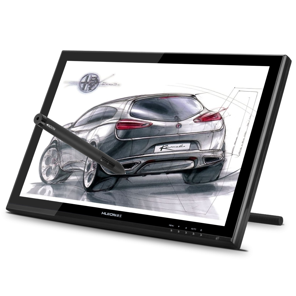 Ems 100 original huion gt 190 digital graphics tablet monitor 19 quot lcd