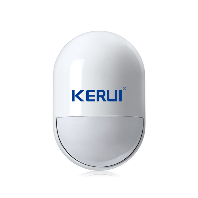 Kerui  LCD Touch Screen GSM SMS Wireless Alarm Security Home System Support Android IOS APP Control independent zones arm/disarm