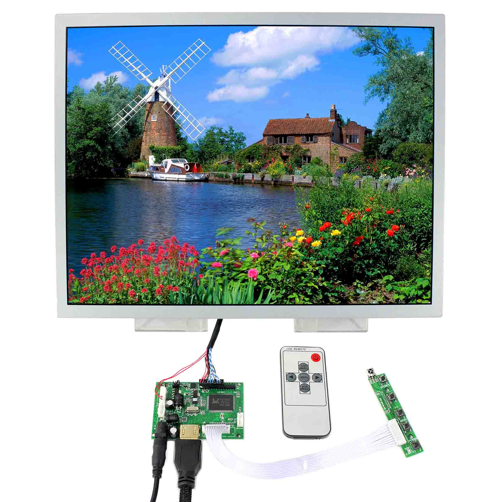 Replacement Parts & Accessories Hdmi Lcd Controller Board With 15 Lq150x1lw94 1024x768 Ips Lcd Panel Easy To Lubricate Back To Search Resultsconsumer Electronics