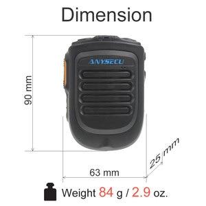 Image 5 - Anysec  micrófono inalámbrico para F22 4G W2PLUS T320 3G/4G, dispositivo de Radio REALPTT ZELLO, compatible con micrófono de mano inalámbrico, versión 4,2