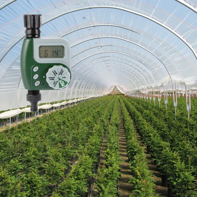 Automatic Electronic Irrigation Controller Water Timer Garden Controller Automatic Plant Watering Timer Irrigation Timer