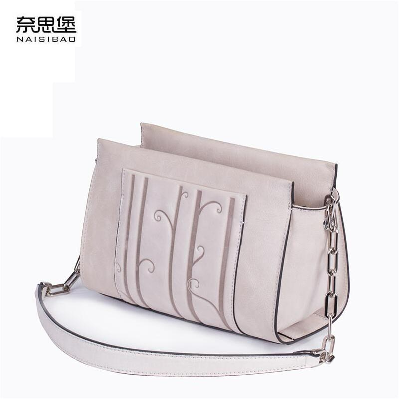 NAISIBAO 2019 New women genuine leather bag  fashion Luxury tote women handbags shoulder bag top cowhide small bagNAISIBAO 2019 New women genuine leather bag  fashion Luxury tote women handbags shoulder bag top cowhide small bag