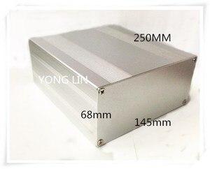 1 шт. Алюминиевый Чехол 145*68-250 мм алюминиевый корпус профильный корпус