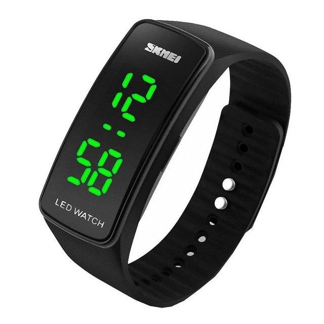771ae7f32937 LED Digital relojes hombres mujeres reloj deportivo moda casual reloj  relojes estudiante reloj fresco para niño