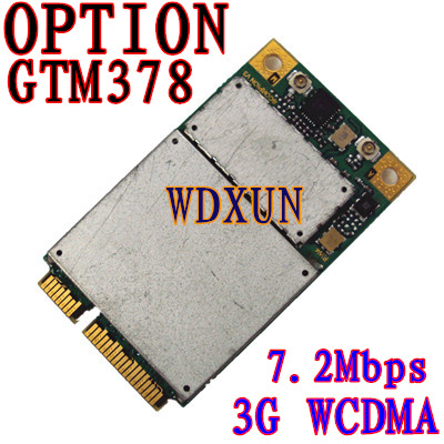 7.2m Option Gtm378 Wireless Internal Pcie Pci-e Tri-band Hsdpa Umts In The 2100, 1900 850 Edge/gprs 3g 2g Modem For Laptop