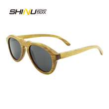 Men Polarized Driving/Pilot Glasses Women Wooden Sunglasses Oculos De Sol ANTI-UVA/UVB Fashion Shade  6027