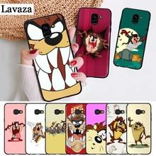 Lavaza Looney Tunes Tasmanian Devil Silicone Case for Samsung A3 A5 A6 Plus A7 A8 A9 A10 A30 A40 A50 A70 J6 A10S A30S A50S