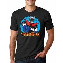 Mazinger Z t shirt Men anime T-Shirt Men Tops boy Short Sleeve t-shirt top Tee Clothes