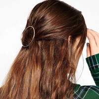 American Jewelry Style Women S Hair Metal Ring Hairpin Geometry