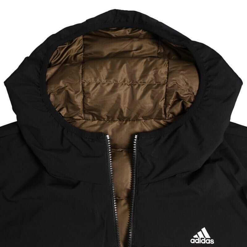 Nouveauté originale Adidas ITAVIC REV manteau en duvet réversible homme randonnée en duvet vêtements de sport
