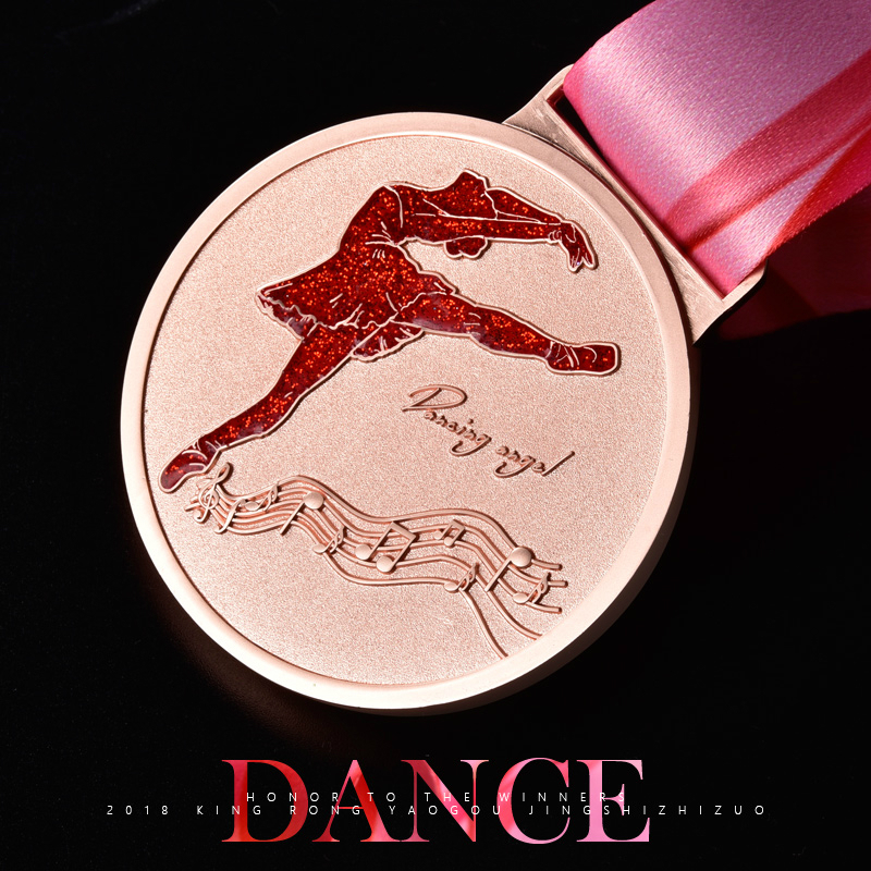 New Dance Competition Medal Customizable Dancer's Honorable Prize Exquisite Souvenirs Of The Best Dance Champions Medal Holder