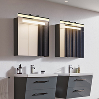 Retractable mirror headlights Nordic minimalist led waterproof creative bathroom bathroom mirror cabinet bathroom cabinet lamp