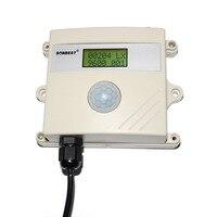 Liquid crystal display RS485 light intensity detector, light intensity sensor probe. Illuminance transmitter SD2160B