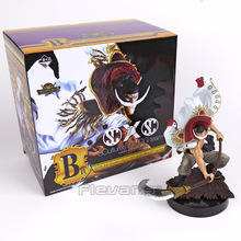 Anime One Piece Film Gold Monkey D Luffy / Shanks / Edward Newgate PVC Figure Collectible Model Toy