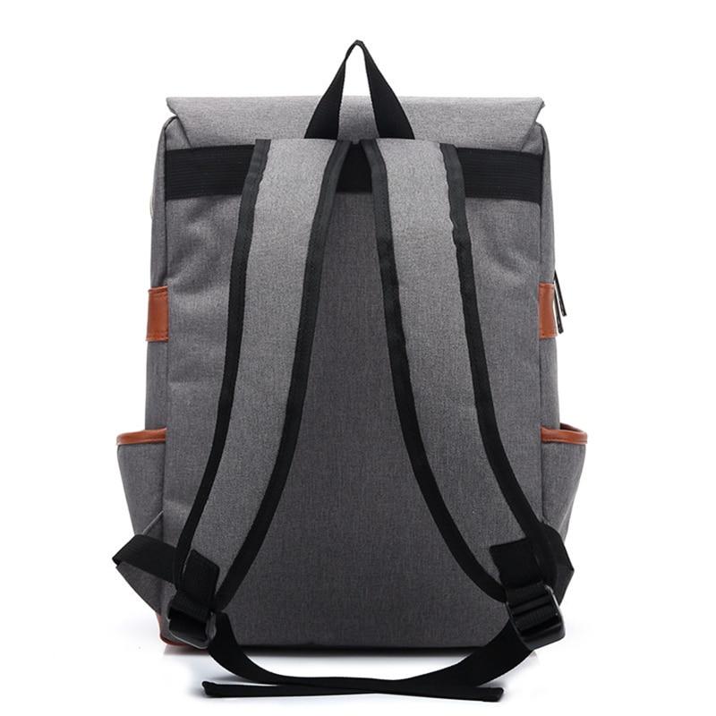 bolsa moda viagem mochilas laptop Tipo de Fecho : Zíper e Fecho