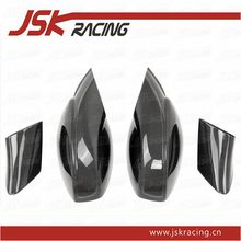 2011-2016 CARBON FIBER EXTERIOR MIRRORS (REPLACEMENT PARTS) (PLAIN WEAVE) FOR FERRARI 458 ITALIA AND SPIDER(JSKFR5811020)