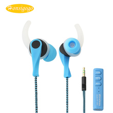 Honsigogo Sport Stereo Wireless Bluetooth Earphone Shoelace Wire Handsfree Earbuds for iphone samsung xiaomi Smartphones