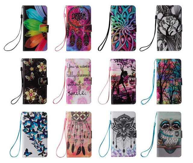 3D Owl Flip Cover PU Leather Case For Touch 5 Wallet Case For Apple Case iPod Touch 5/Touch 6