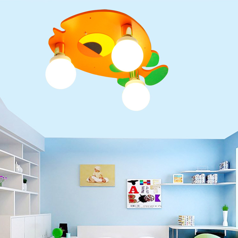 Lights & Lighting Collection Here Creative Childrens Room Lamp Bedroom Lamp Cartoon Airplane Baby Boy Kindergarten Room Ceiling Lighting Eye Latest Technology Ceiling Lights & Fans