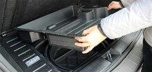 1x Задний Багажник Ящик Для Хранения Запасных Шин Перчатки Держатель контейнер Организатор Для Mercedes Benz GLK Class X204 GLK200 GLK250 GLK350