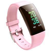 2018 Fashion Women Smart Watch for IOS Android Heart rate detection Sleep Monitoring message notification watch Spot best price