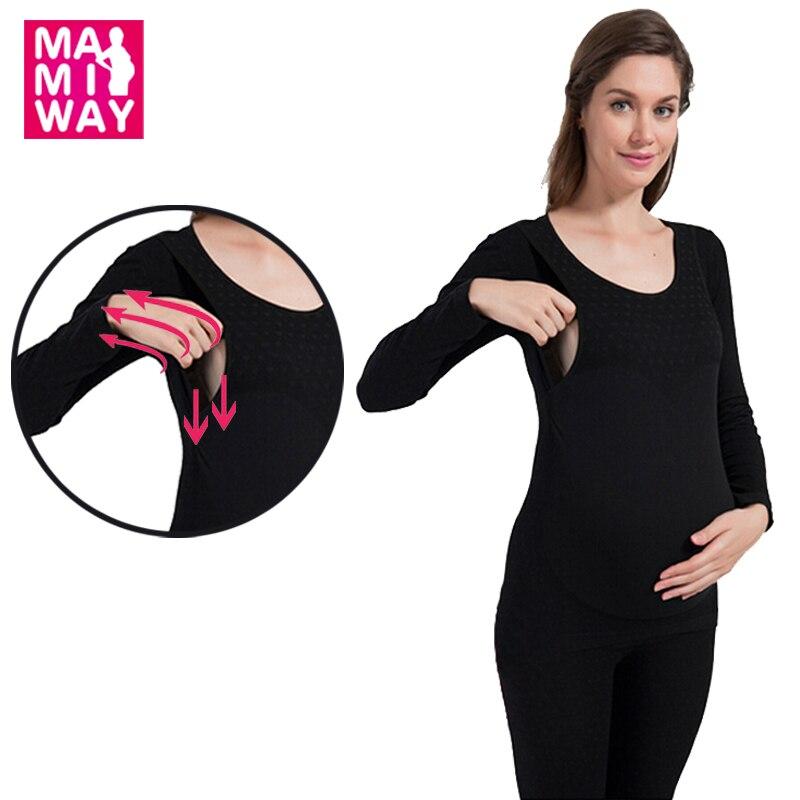 fc8fe2a57a7 Térmica calzoncillos largos de maternidad ropa, Invierno + Otoño Ropa  Interior Térmica Para Las Mujeres Embarazadas, en periodo de Lactancia  Embarazo wear ...