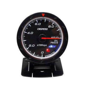 CNSPEED 60 мм гоночный автомобиль масляный манометр 50--150C метр и освещение авто масляный манометр TT101166