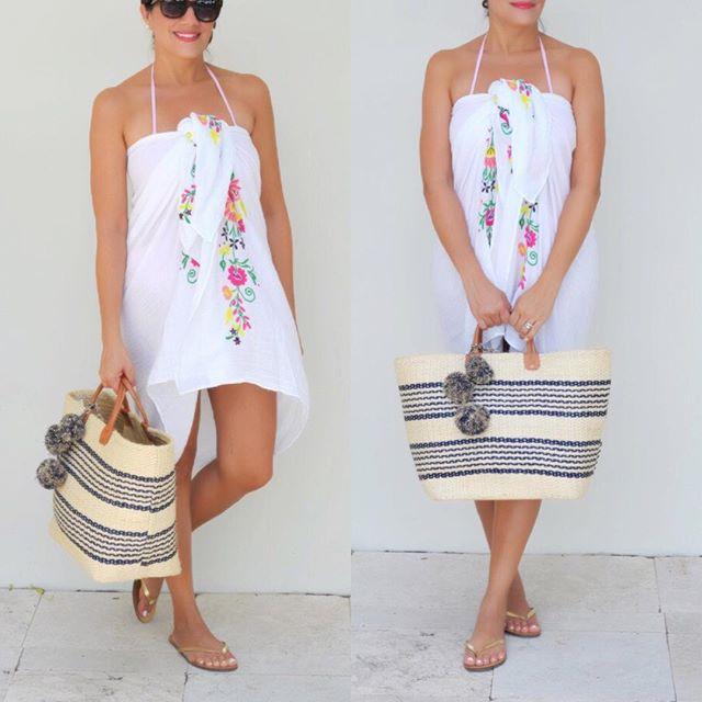 Strandtas jumbo stro totes tas zomer tassen vrouwen gestreepte - Handtassen - Foto 4