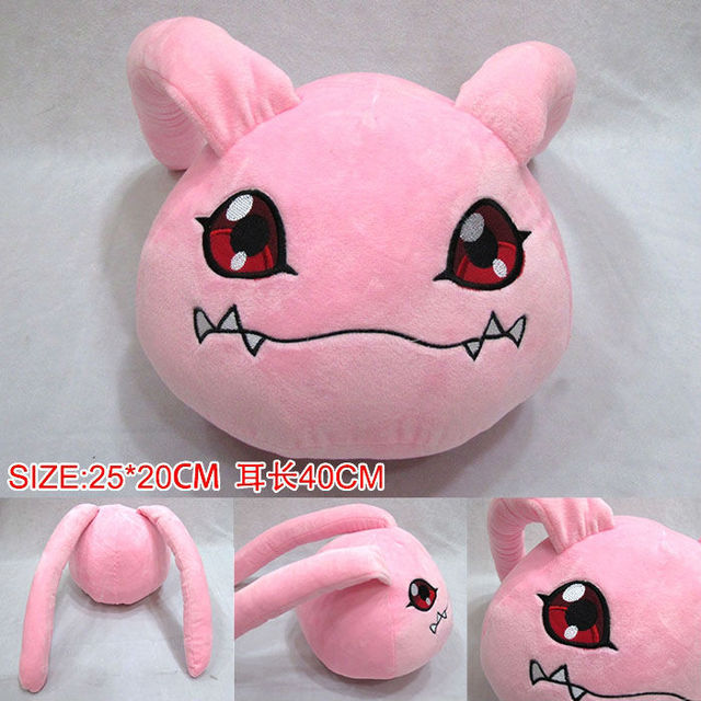 Digimon Adventure Plush Toy Anime Koromon plush pillow doll for girl gift 25cm Free Shipping