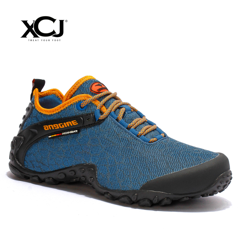 XCJ Men Sneakers Brand Men Casual Shoes Men Shoes Plus Big Size Men Flats Lace up Spring Autumn Slip On Breathable High Quality high quality men golf shoes men spring and autumn breathable men shoes 5 colors professional training shoes