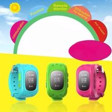 HQ Anti Verloren GPS Tracker Uhr Für Kinder SOS Notfall GSM Smart Handy App Für IOS & Android Smartwatch Armband Alarm
