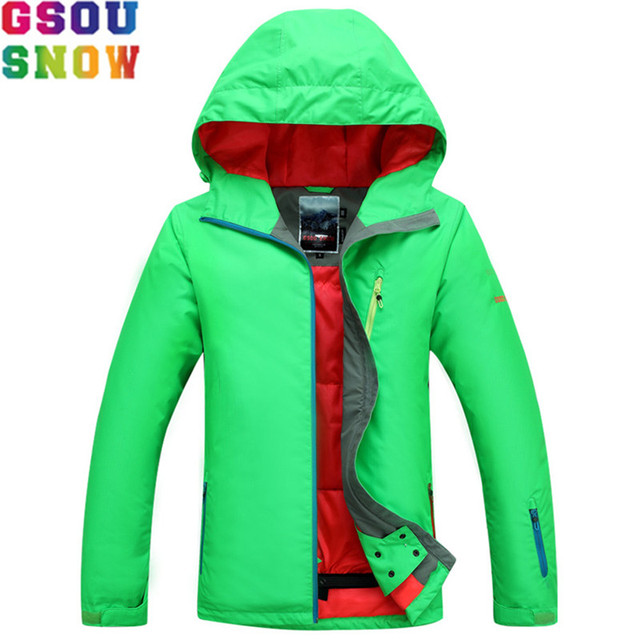 GSOU SNOW Ski Jacket Women Winter Waterproof Jacket Ladies Professional  Skiing Snowboarding jackets Breathable Bright Color a8ac47d72