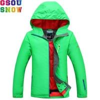 GSOU SNOW Ski Jacket Women Winter Waterproof Jacket Ladies Professional Skiing Snowboarding jackets Breathable Bright Color