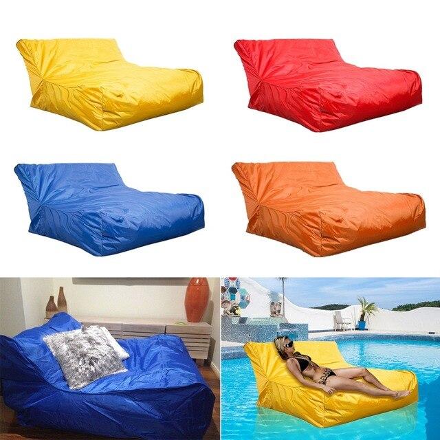 Float Beanbag Swimming Pool Floating Bean Bag Cover Waterproof Reading Relaxing Soft Lounge Chair Sofa