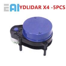 цена на 5 PCS EAI YDLIDAR X4 LIDAR Laser Radar Scanner Ranging Sensor Module 10 meters 5KHz Ranging Frequency EAI YDLIDAR-X4 for ROS