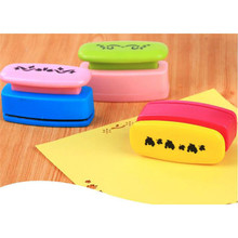 где купить DIY Paper Printing Card Cutter Scrapbook Shaper small Embossing Device Hole Punch Kids Handmade Craft Gifts Award Hole Puncher дешево