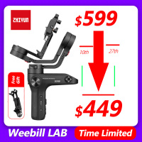 Zhiyun Weebill Lab 3 Axis Handheld Gimbal Stabilizer for Mirrorless Camera Estabilizar Sony A7R3 6300 GH5 PK DJI Ronin S Crane 2