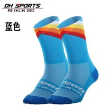 DH SPORTS Top Brand Professional Cycling Socks Men Women Outdoor Breathable Road Bicycle Running Compression Sport