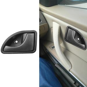 Image 3 - 2 Pcs/set Car Inner Handle Interior Door Panel Pull Trim Cover Black Left Right For RENAULT KANGOO TWINGO