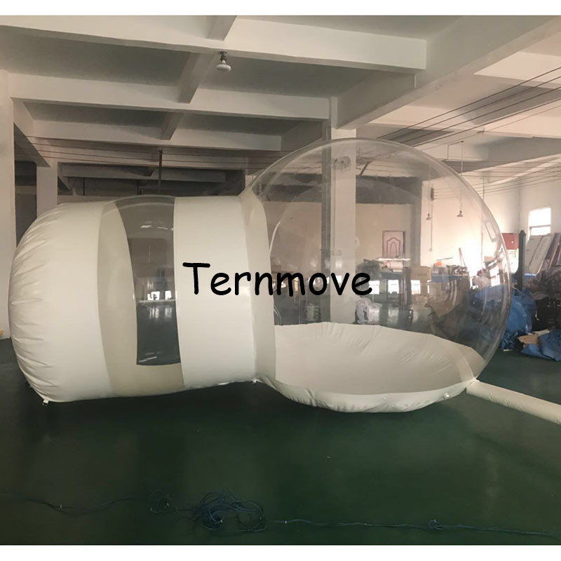 Inflatable Bubble Camping Tent,Outdoor inflatable lawn hotle room inflatable stage bubble tree tent 6 8x4x3 4m oxford cloth inflatable stage tent inflatable stage cover inflatable canopy tent for concert with free shipping