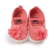 Christening Baptism Newborn Baby Girl Shoes